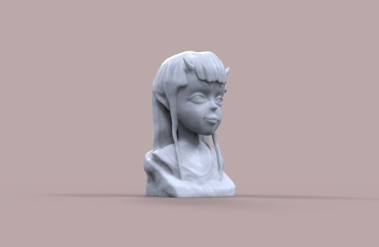 Demon Girl Statue 3D Print 118520
