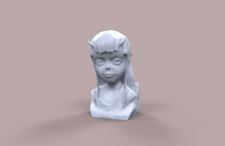 Demon Girl Statue 3D Print 118521