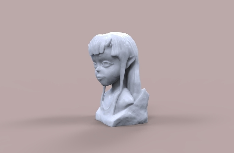 Demon Girl Statue 3D Print 118522
