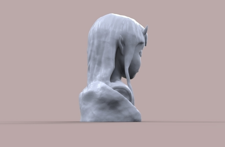 Demon Girl Statue 3D Print 118524