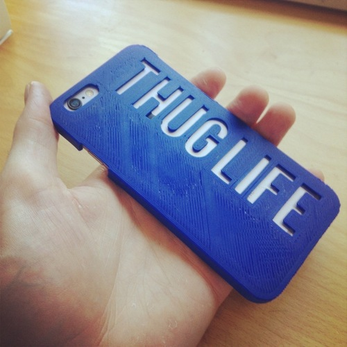 The Thug Life iPhone6 Case 3D Print 118591