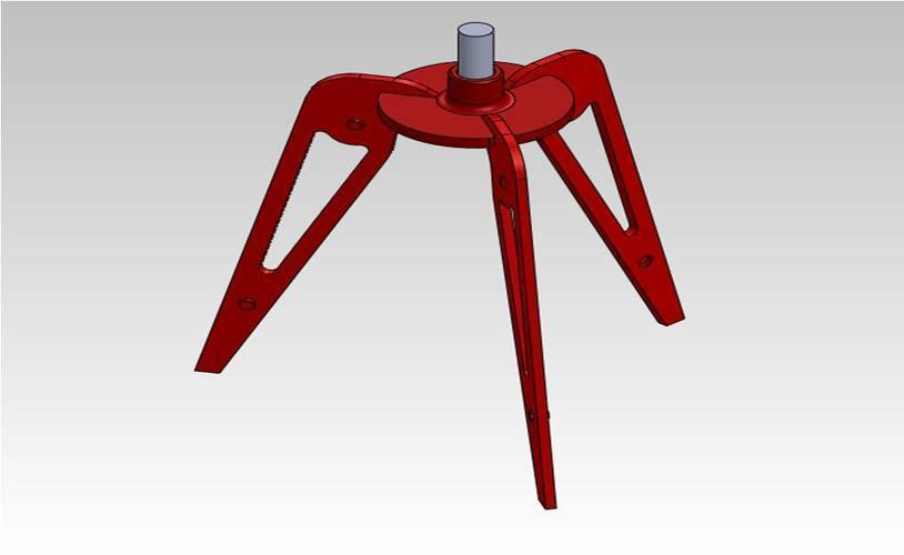A semi-useful camera tripod 3D Print 118611