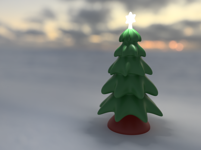 Christmas Tree Freeform 3D Print 118680