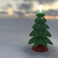 Small Christmas Tree Freeform 3D Printing 118680