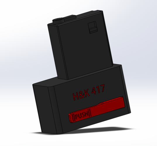 H&K 417 Adaptor for speed loader 3D Print 118685