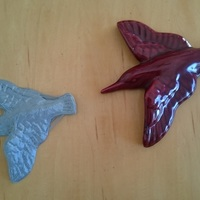 Small Ceramic Swallow 3D Printing 118760
