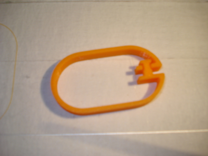 Shower Curtain Hanger-1 3D Print 118849