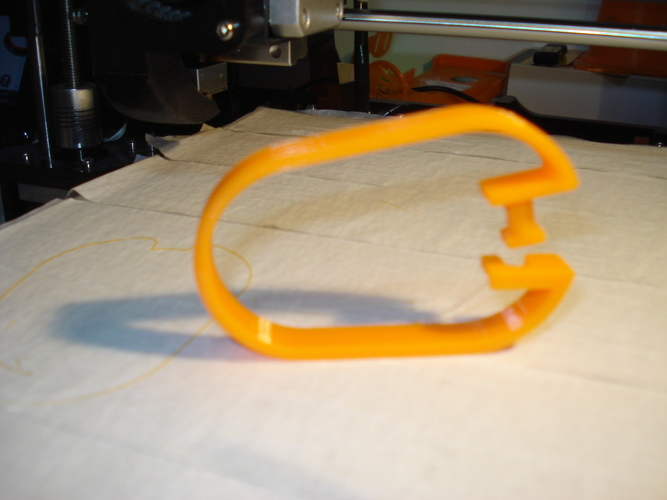 Shower Curtain Hanger-1 3D Print 118850