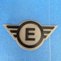 Small Fallout Early Enclave Emblem 3D Printing 118916
