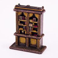 Small HG3D Household Bookcase- 28mm 3D Printing 118937