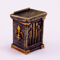 Small HG3D Household Lectern - 28mm 3D Printing 118957