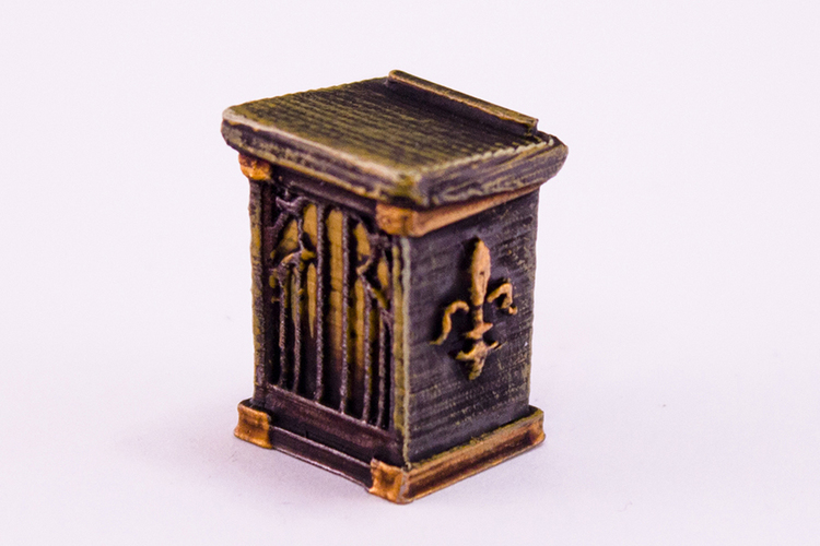 HG3D Household Lectern - 28mm 3D Print 118958