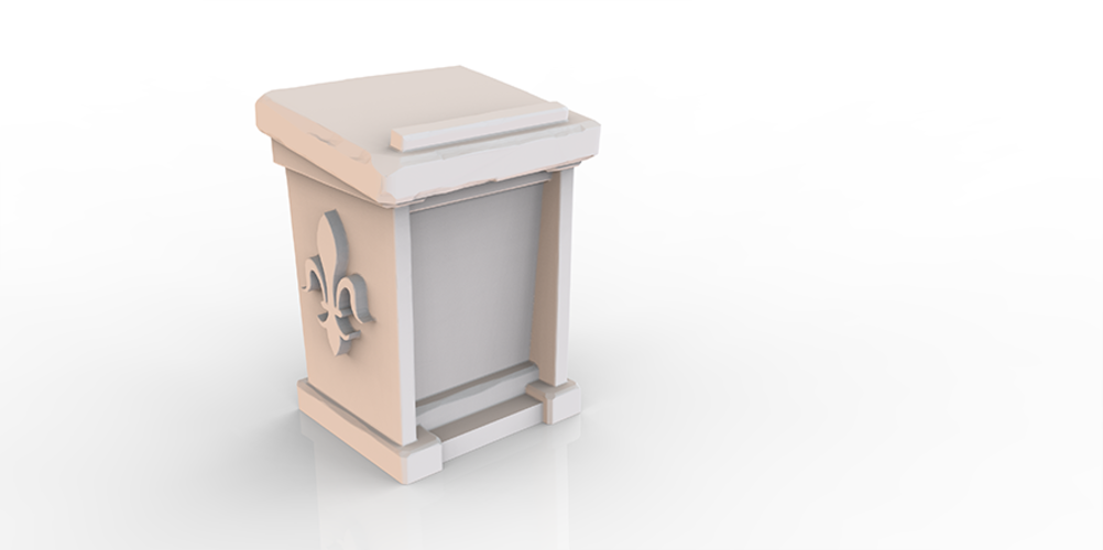 HG3D Household Lectern - 28mm 3D Print 118959
