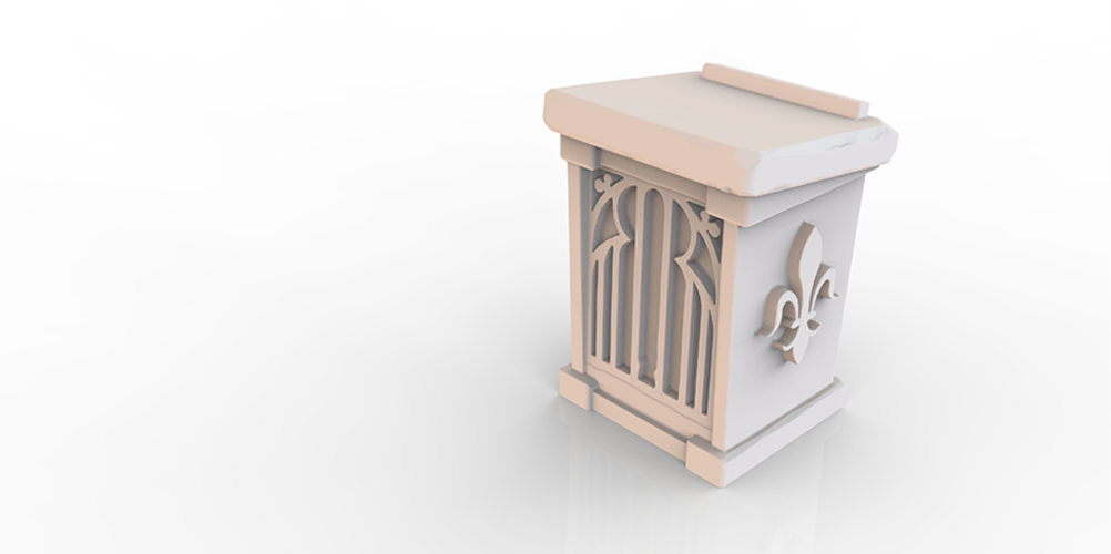 HG3D Household Lectern - 28mm 3D Print 118960