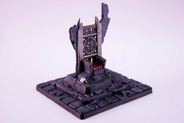 HG3D Throne of Forlorn - 28mm 3D Print 119123