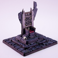 Small HG3D Throne of Forlorn - 28mm 3D Printing 119123