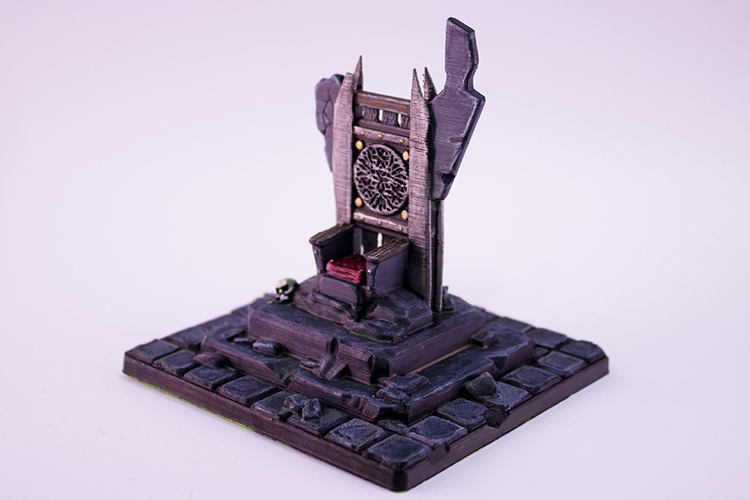 HG3D Throne of Forlorn - 28mm 3D Print 119124