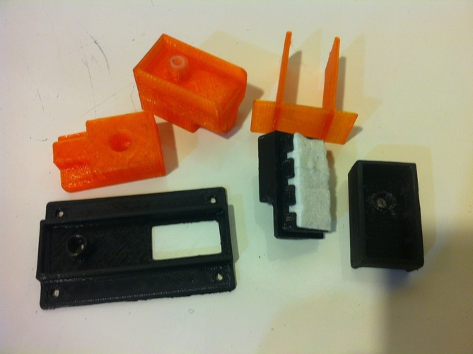Filament Oiler & Low Filament Alarm Accessories 3D Print 119493