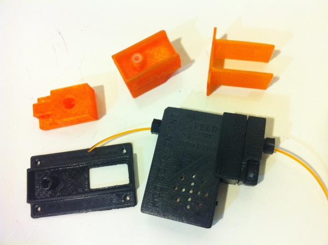 Filament Oiler & Low Filament Alarm Accessories 3D Print 119494
