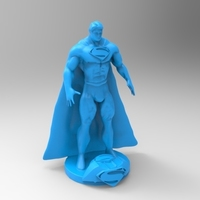 Small superman x2 3D Printing 119551