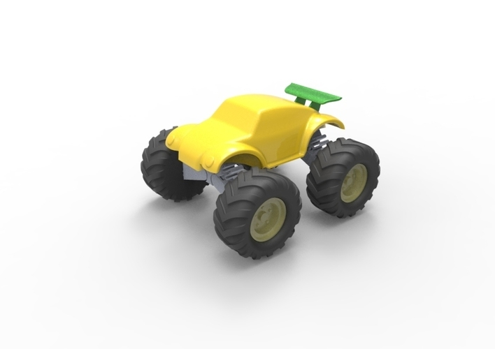 3D Buggy Monster truck 3D Print 119653