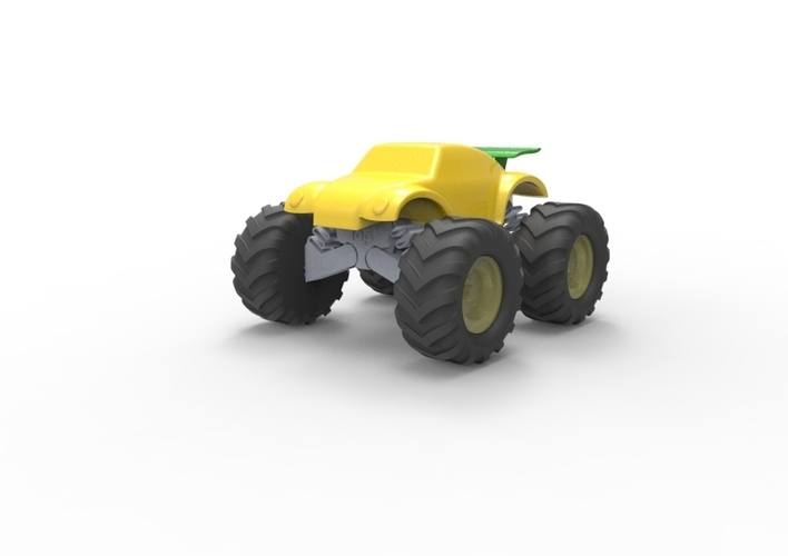 3D Buggy Monster truck 3D Print 119654