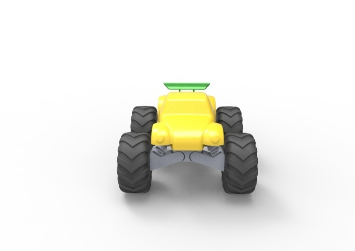 3D Buggy Monster truck 3D Print 119655