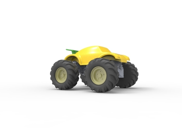3D Buggy Monster truck 3D Print 119656