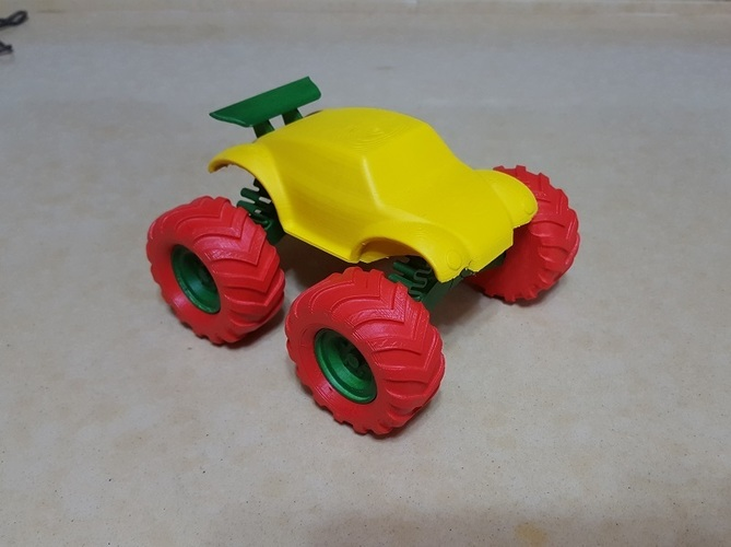 3D Buggy Monster truck 3D Print 119659