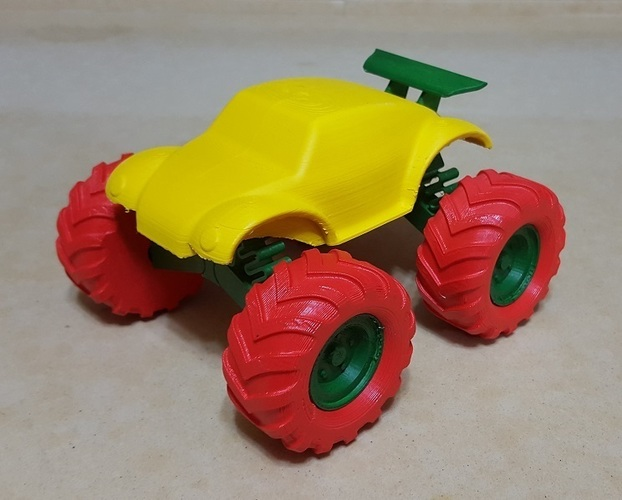 3D Buggy Monster truck 3D Print 119661