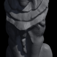 Small Lion Statue  3D Printing 119705