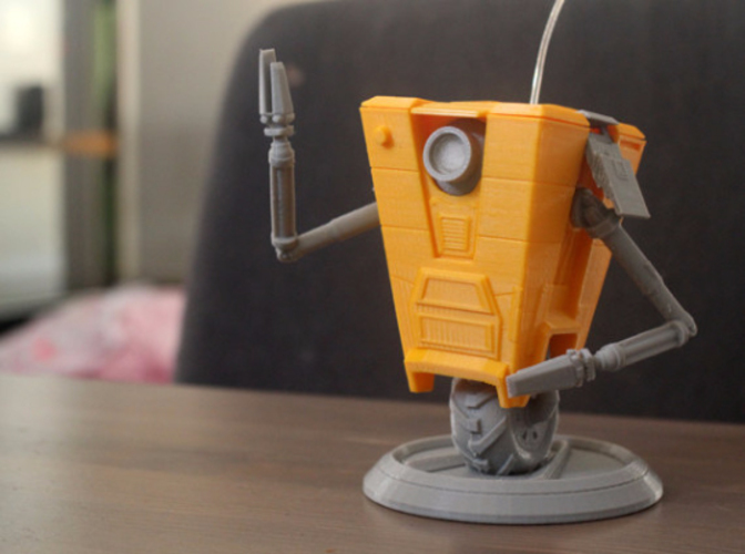 ClapTrap From Borderlands 3D Print 119707