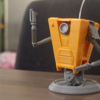 Small ClapTrap From Borderlands 3D Printing 119707