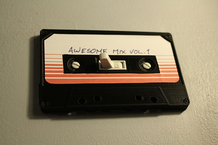 Cassette Tape Light Switch Cover 3D Print 119711