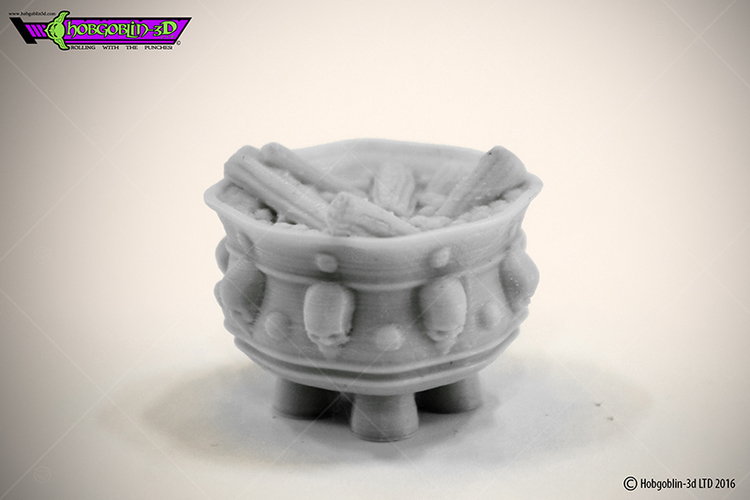 HG3D Dungeon Brazier- 28mm 3D Print 119733