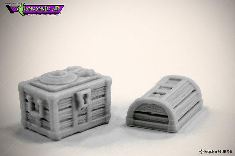 HG3D Dungeon Chest - 28mm 3D Print 119737