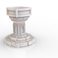 Small HG3D Worship Font - 28mm 3D Printing 119762