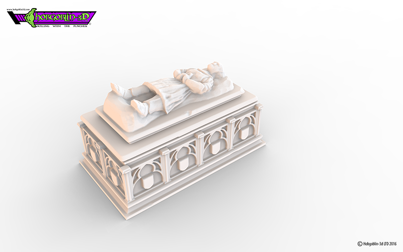 HG3D Worship Sarcophagus- 28mm 3D Print 119776