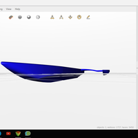 Small Breezemaster racing skiff v1.0 3D Printing 119781