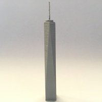Small The One World Trade Center 3D Printing 119802