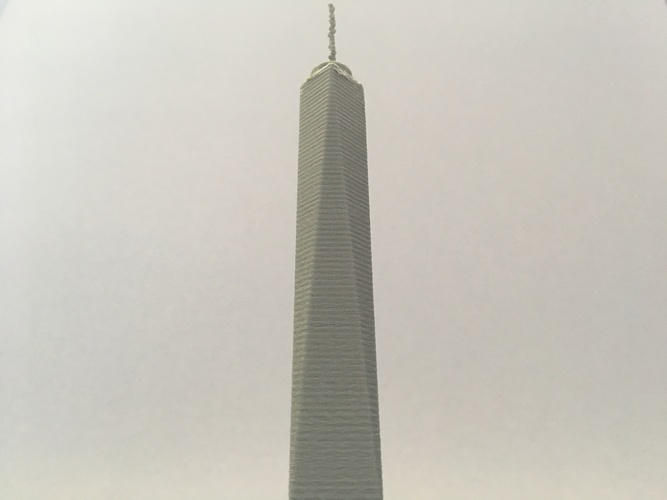 The One World Trade Center 3D Print 119804