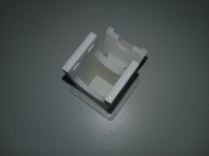 Layered fan 3D printer (40mm) 3D Print 119813