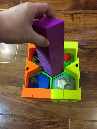 Settlers of Catan Dual Extrusion Complete Original & 5-6 Player  3D Print 119829