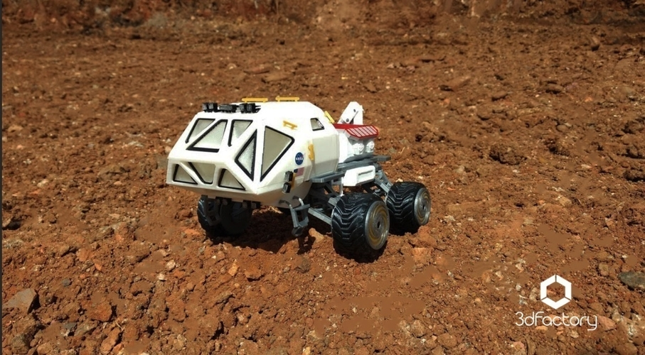 Martian Rover - The Martian - FDM 3dPrintable - 3dFactory Brasil 3D Print 119872