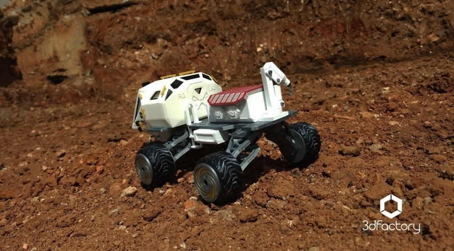 Martian Rover - The Martian - FDM 3dPrintable - 3dFactory Brasil 3D Print 119873