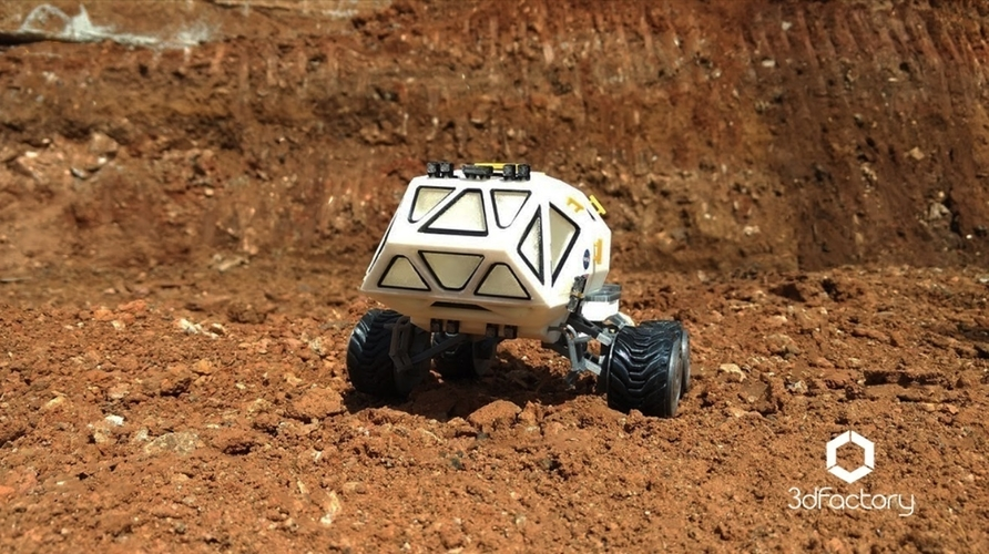 Martian Rover - The Martian - FDM 3dPrintable - 3dFactory Brasil 3D Print 119874