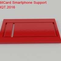 Small ​Credit Card Smartphone Supporting by NQT.2016 3D Printing 119899