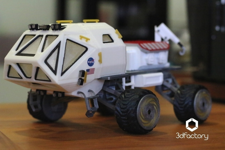 Martian Rover - The Martian - FDM 3dPrintable - 3dFactory Brasil 3D Print 119917