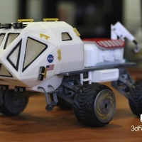 Small Martian Rover - The Martian - FDM 3dPrintable - 3dFactory Brasil 3D Printing 119917