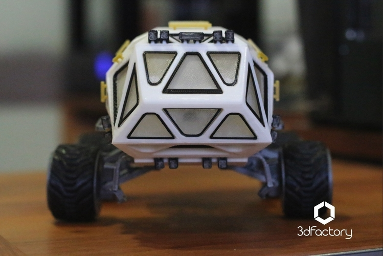 Martian Rover - The Martian - FDM 3dPrintable - 3dFactory Brasil 3D Print 119918